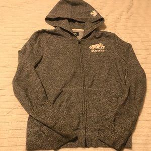 Roots Kids zip front hoodie